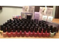 Brand new OPI nail polishes job lot suitable for new beauty salon ,nail technician,college