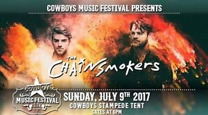Chainsmokers Tickets at Calgary Stampede