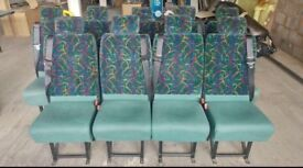 9 SINGLE GREEN MINIBUS SEATS £40 PER SEAT