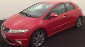 Honda Civic 1.8 i-VTEC 2010MY Si FROM £20 PER WEEK!