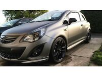 VAUXHALL CORSA 1.2 LIMITED EDITION VXR STYLING, FSH, MOT 2018, MATTE GREY ONE OFF!!