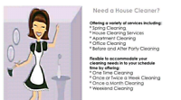 Need your house cleaned asap? 25/ hr flat book today