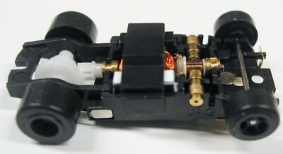 JAG Hobbies TR-3 In-line Rolling Slot Car Chassis for Screw-On T-jet Bodies