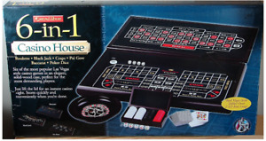 Excalibur 6-in-1 House Casino-Excellent Condition