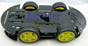 New-4WD-Robot-Smart-Car-Kits-Chassis-Mobile-Platform-4-drive-Special-Price-Gift