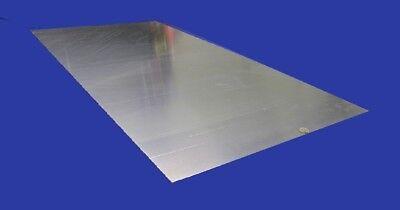 2024 Aluminum Sheet T3 .100 Thick X 24.0 Width X 48.0 Length