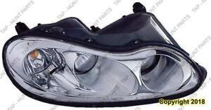 Head Light Passenger Side 3 Bulb Type Chrysler Concorde 2002-2004