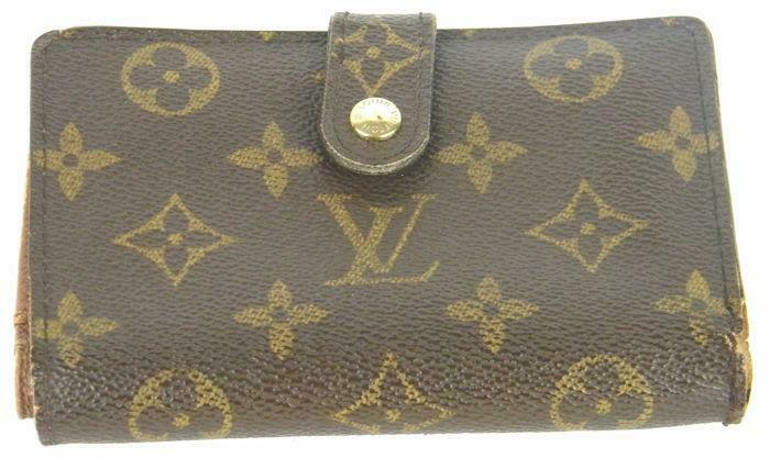 ee7d957338bb2 ... Louis Vuitton - Monogram French Kiss Lock Medium Portemonnee ...
