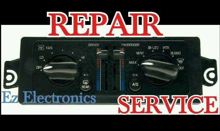 A/C CLIMATE CONTROL ILLUMINATION REPAIR SERVICE FOR BUICK LESABRE 2000 TO 2005