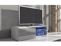 Designer TV Cabinet with LED Lighting new boxed