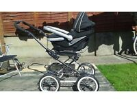 Immaculate Condition 3-in-1 Emmaljunga Travel System