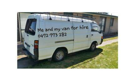 Man and a van for hire