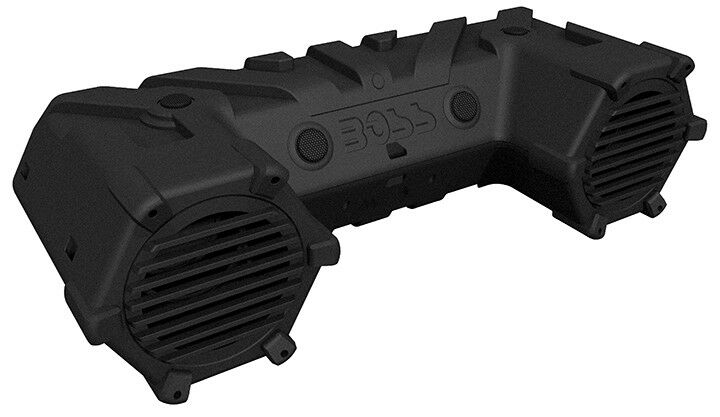 "Boss Audio ATVB95LED ATV Sound System 8"" Marine Speakers Bluetooth Dual LED Bar"