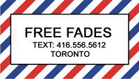 FREE HAIRCUTS - MALE MODELS NEEDED