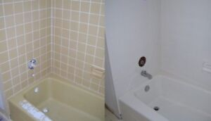 Refinishing Bathtubs and Tile, Grout Renewal and Tile Cleaning