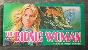 1976 Bionic Woman Board Game