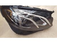 Mercedes 213 E class xenon headlight Led Performance driver or passenger side