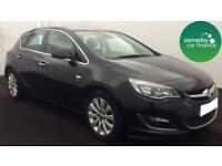 £143.43 PER MONTH BLACK 2013 VAUXHALL ASTRA 2.0 CDTi E/F ELITE 5 DOOR MANUAL