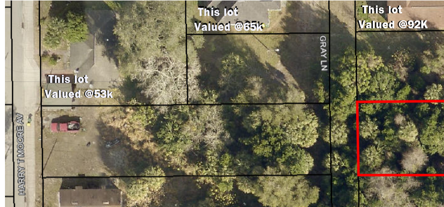 Large Brevard County, Mimms. Florida Residential Land Lot/pre-foreclosure  - $299.00