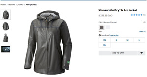 Columbia Women OutDry™ Jacket/perfect for hiking/sking