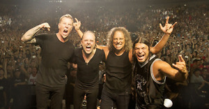 Face Value Metallica Tickets For Sale