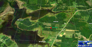 60 acres waterfront in Beaubassin East