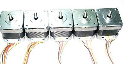 5 Nema 17 Japan Servo Stepper Motors 44ozin Reprap Makerbot Prusa 3d Printer