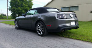 FORD MUSTANG GT 2011 5.0L CONVERTIBLE  MANUEL