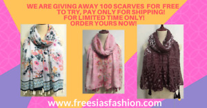 Free scarf to try just pay for shipping