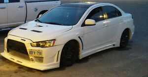 2008 Mitsubishi Lancer GT Evo kit Sedan