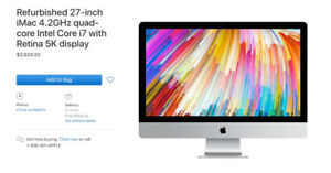 27-inch iMac 4.2GHz quad-core Intel Core i7