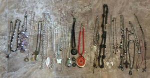 31 Assorted Necklaces