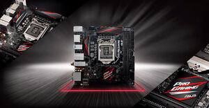 For Sale ASUS Z170I PRO GAMING LGA 1151 - Mini-ITX Motherboard