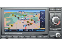 AUDI RNS-E ( NAVIGATION PLUS ) 2016 SATELLITE NAVIGATION 3 DISC UPDATE SET