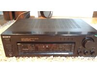 Sony amp video/audio control centre fm stereo receiver str d515