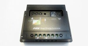 30 Amps Solar Charge Controller with light and timer controller