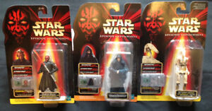 """Lot of """"Star Wars"""" Action Figures with Commtech Chip Reader"""