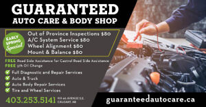 EARLY SPRING PROMO!!! OUT OF PROVINCE $80 call 403-253-5141