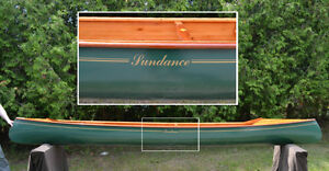 Sundance - 2 Cane Seat Canoe -Beautiful
