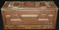 7.62mm & 81mm Ammo Boxes from 1956 & 1965