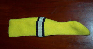 1975 Boston Bruins BOBBY ORR Regal's Toy Doll Yellow Sock RARE