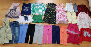 Girls clothes 3-5 T