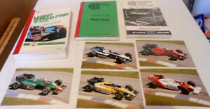 F1 Labatt Grand Prix Racing Media Guides & Postcards NASCAR lot