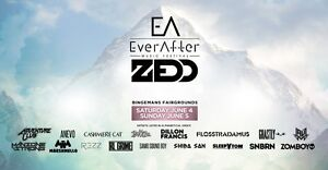 Ever After Music Festival Hard Copy GA All Acces Tickets