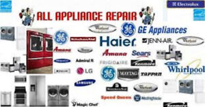 professional appliance repair and install(gas&electric)