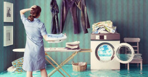 Professional  laundry service JUST for you in the Hamilton area.