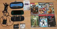 PSP3001 + games and accessories / PSP3001 + jeux et accessoires