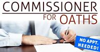 Mobile Commissioner for Oaths -  Available Now