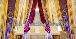 SOUTH ASIAN STYLE WEDDING BACKDROPS
