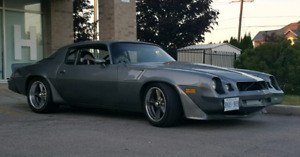 1980 z28 fuel injected supercharged caged